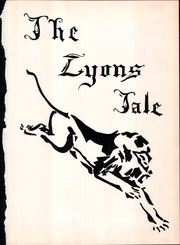 Page 5, 1956 Edition, Lyons High School - Lyons Tale Yearbook (Lyons, NY) online yearbook collection