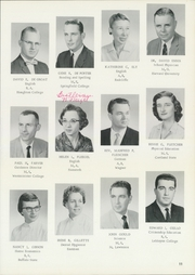 Page 15, 1961 Edition, Lyons High School - Lyons Tale Yearbook (Lyons, NY) online yearbook collection
