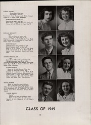Page 15, 1949 Edition, Dickerson High School - Tru Ce Yearbook (Trumansburg, NY) online yearbook collection