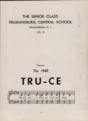 Page 5, 1949 Edition, Dickerson High School - Tru Ce Yearbook (Trumansburg, NY) online yearbook collection