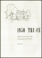 Page 6, 1950 Edition, Dickerson High School - Tru Ce Yearbook (Trumansburg, NY) online yearbook collection