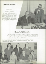 Page 10, 1957 Edition, Dickerson High School - Tru Ce Yearbook (Trumansburg, NY) online yearbook collection
