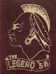 1958 Edition, Letchworth Central High School - Legend Yearbook (Gainesville, NY)