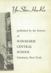 Page 7, 1951 Edition, Schoharie Central High School - Yo Sko Ha Ro Yearbook (Schoharie, NY) online yearbook collection
