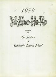 Page 5, 1959 Edition, Schoharie Central High School - Yo Sko Ha Ro Yearbook (Schoharie, NY) online yearbook collection