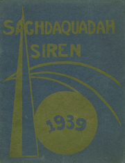 Sauquoit Valley Central High School - Saghdaquadah Yearbook (Sauquoit, NY) online yearbook collection, 1939 Edition, Page 1