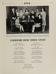 Page 11, 1944 Edition, Sauquoit Valley Central High School - Saghdaquadah Yearbook (Sauquoit, NY) online yearbook collection