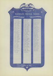 Page 10, 1943 Edition, Randolph Central School - Hilltop Yearbook (Randolph, NY) online yearbook collection