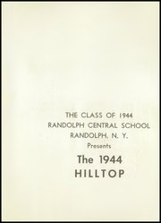 Page 5, 1944 Edition, Randolph Central School - Hilltop Yearbook (Randolph, NY) online yearbook collection