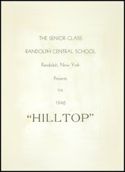 Page 9, 1946 Edition, Randolph Central School - Hilltop Yearbook (Randolph, NY) online yearbook collection