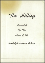 Page 5, 1948 Edition, Randolph Central School - Hilltop Yearbook (Randolph, NY) online yearbook collection