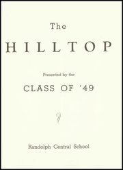Page 5, 1949 Edition, Randolph Central School - Hilltop Yearbook (Randolph, NY) online yearbook collection