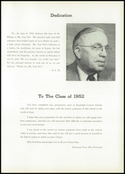 Page 9, 1952 Edition, Randolph Central School - Hilltop Yearbook (Randolph, NY) online yearbook collection