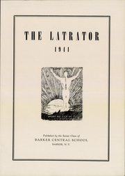 Page 5, 1941 Edition, Barker Central High School - Latrator Yearbook (Barker, NY) online yearbook collection