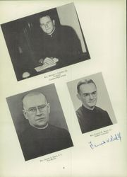 Page 12, 1951 Edition, Canisius High School - Arena Yearbook (Buffalo, NY) online yearbook collection