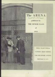 Page 7, 1951 Edition, Canisius High School - Arena Yearbook (Buffalo, NY) online yearbook collection
