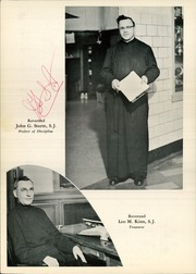 Page 14, 1956 Edition, Canisius High School - Arena Yearbook (Buffalo, NY) online yearbook collection