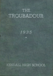 Page 1, 1935 Edition, Kendall High School - Troubadour Yearbook (Kendall, NY) online yearbook collection