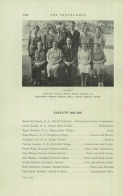 Page 6, 1935 Edition, Kendall High School - Troubadour Yearbook (Kendall, NY) online yearbook collection