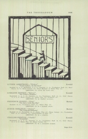 Page 7, 1935 Edition, Kendall High School - Troubadour Yearbook (Kendall, NY) online yearbook collection
