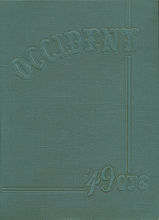 West Rochester High School - W Yearbook (Rochester, NY) online yearbook collection, 1949 Edition, Page 1