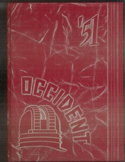 1951 Edition, West Rochester High School - W Yearbook (Rochester, NY)