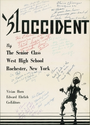Page 5, 1951 Edition, West Rochester High School - W Yearbook (Rochester, NY) online yearbook collection