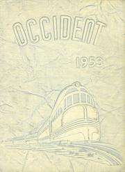 1953 Edition, West Rochester High School - W Yearbook (Rochester, NY)