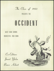 Page 5, 1953 Edition, West Rochester High School - W Yearbook (Rochester, NY) online yearbook collection