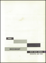 Page 5, 1957 Edition, West Rochester High School - W Yearbook (Rochester, NY) online yearbook collection