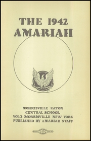 Page 5, 1942 Edition, Morrisville Eaton High School - Amariah Yearbook (Morrisville, NY) online yearbook collection