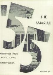 Page 9, 1955 Edition, Morrisville Eaton High School - Amariah Yearbook (Morrisville, NY) online yearbook collection