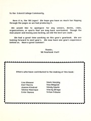 Page 3, 1988 Edition, Eckerd College - Logos Yearbook (St Petersburg, FL) online yearbook collection
