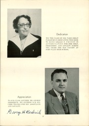 Page 5, 1952 Edition, Fort Plain High School - Portrait Yearbook (Fort Plain, NY) online yearbook collection