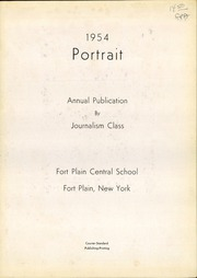 Page 3, 1954 Edition, Fort Plain High School - Portrait Yearbook (Fort Plain, NY) online yearbook collection