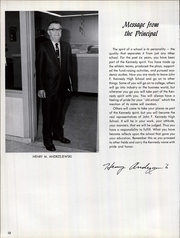 Page 16, 1968 Edition, John F Kennedy High School - Forum Yearbook (Cheektowaga, NY) online yearbook collection