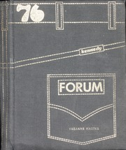 1976 Edition, John F Kennedy High School - Forum Yearbook (Cheektowaga, NY)