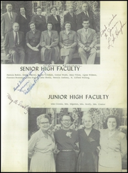 Page 15, 1954 Edition, Greenwich Central High School - Cauldron Yearbook (Greenwich, NY) online yearbook collection