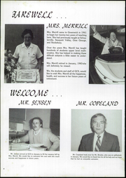 Page 6, 1983 Edition, Greenwich Central High School - Cauldron Yearbook (Greenwich, NY) online yearbook collection