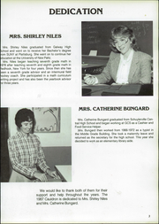 Page 7, 1987 Edition, Greenwich Central High School - Cauldron Yearbook (Greenwich, NY) online yearbook collection