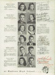 Page 17, 1942 Edition, Madison High School - Madisonian Yearbook (Rochester, NY) online yearbook collection