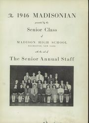 Page 5, 1946 Edition, Madison High School - Madisonian Yearbook (Rochester, NY) online yearbook collection