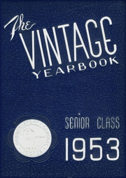 1953 Edition, Hammondsport Central High School - Vintage Yearbook (Hammondsport, NY)