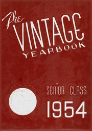 1954 Edition, Hammondsport Central High School - Vintage Yearbook (Hammondsport, NY)