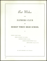 Page 130, 1958 Edition, Bishop Timon High School - Yearbook (Buffalo, NY) online yearbook collection