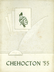 1955 Edition, Hancock Central Hgih School - Chehocton Yearbook (Hancock, NY)