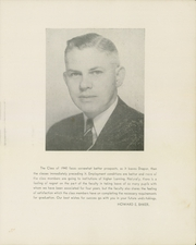 Page 9, 1940 Edition, Draper High School - Draperian Yearbook (Schenectady, NY) online yearbook collection