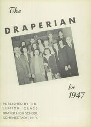 Page 5, 1947 Edition, Draper High School - Draperian Yearbook (Schenectady, NY) online yearbook collection