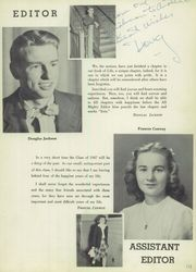 Page 7, 1947 Edition, Draper High School - Draperian Yearbook (Schenectady, NY) online yearbook collection