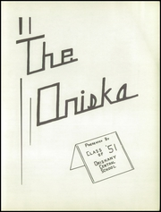 Page 5, 1951 Edition, Oriskany High School - Oriska Yearbook (Oriskany, NY) online yearbook collection
